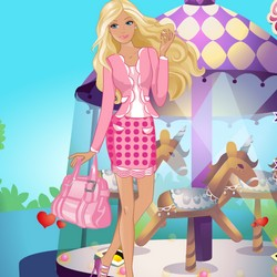 Beautiful Barbie Dating Scold Up Games